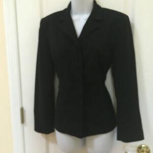 Vintage-AGB-petite-womans-Black-Jacket-size-8