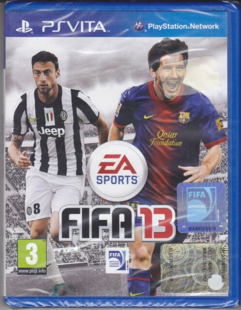 Psvita PLAYSTATION Vita Fifa 13 New Sealed Italian