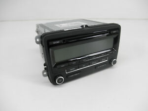 Original-VW-Radio-Passat-Eos-Golf-Jetta-5N0035164-US-USA-CD-AM-FM-Satellite-SAT