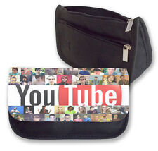 YOUTUBE GANG CASE / MAKE UP BAG GREAT FOR SCHOOL (COLLAGE) TOP YOUTUBERS