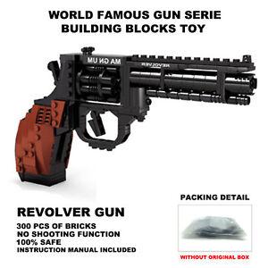 Ausini Gun Toys,Top Gun Series,Revolve Gun Model,Building Blocks,Kids Toys