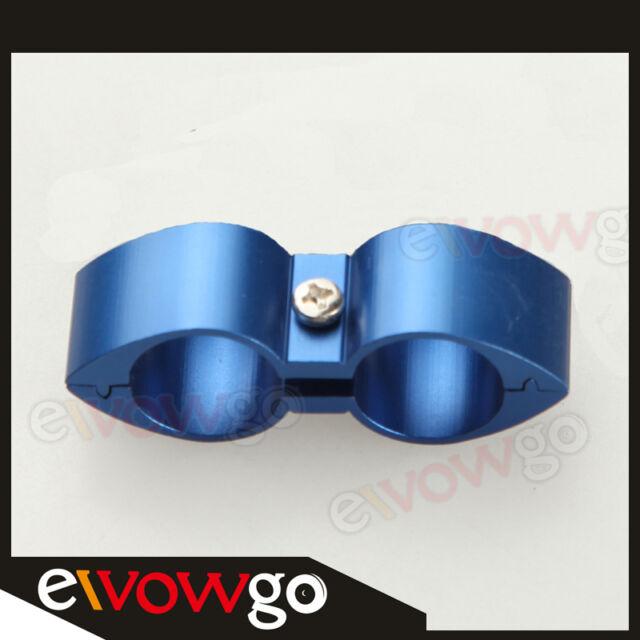 Blue ID 16.08mm -8AN AN8 Billet Fuel Hose Separator Fittings Adapter Butterfly