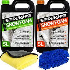 Snow Foam Shampoo Car Candy pH 10L Neutral Wash Wax Soap Kit 2 x 5L Detailing