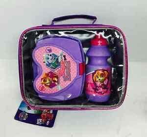 Girls-Paw-Patrol-Skye-Insulated-Lunch-Bag-Sandwich-Box-amp-Bottle-Set