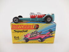 Matchbox Superfast 64 Slingshot Dragster Blue Mint- in H Box MIB