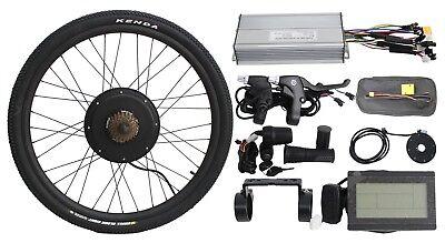 "Display Hallomotor 36v 750w 20/""-29/"" Rear Wheel Ebike Conversion Kit Controller"