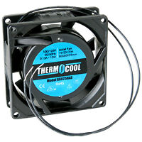 Thermocool 110 Vac Fan 80 X 25mm Sleeve Bearing 19 Cfm on sale