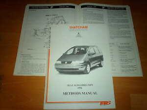 body repair manual seat alhambra mpv ebay rh ebay co uk service manual seat alhambra workshop manual seat alhambra