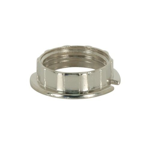 G9 Socket Access. SATCO 80-1583 Chrome Ring To Stop Tubular Glass PACK OF 2