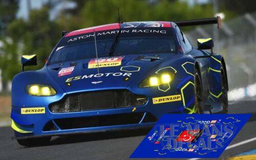 Decals Aston Martin Vantage GTE Le Mans 2014 1:32 1:43 1:24 1:18 87 slot calcas