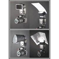 Interfit Photographic Strobies Flash Gun Bounce Set For Shoe Mount Flashes
