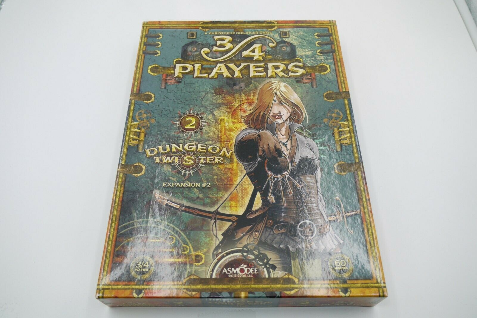 DUNGEON TWISTER 2 Expansion 3 4 PLAYERS tavola gioco  ASMODEE completare  Senza tasse