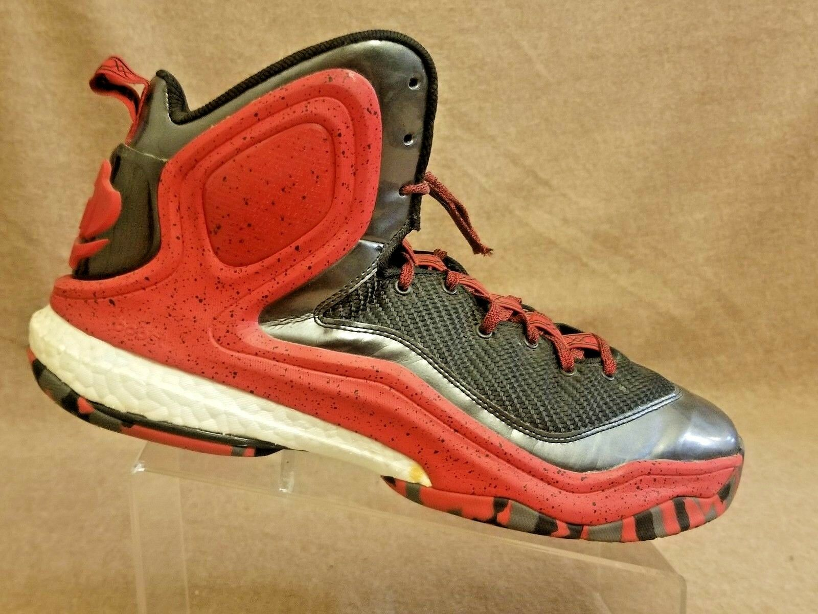 adidas derrick rose stärken 5 männer rot basketball ist schwarz - rot männer - hohe spitze schuhe der größe. efbfcc