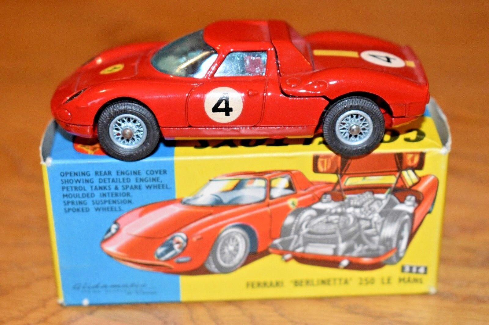 Corgi Toys 314; Ferrari  Berlinetta  250 Le Mans; Original Box