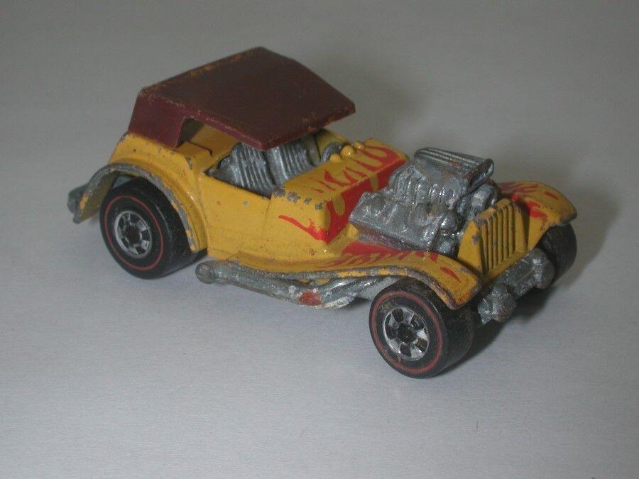 encuentra tu favorito aquí rojoline rojoline rojoline Hotwheels Amarillo 1973 Sir Rodney Roadster oc17377  online al mejor precio