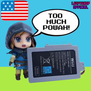 3600mAh-Nintendo-Wii-U-Battery-Pack-for-Gamepad-Replacement-with-Tool-WiiU-3-7V