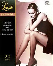 Levante Sharade Silky Soft Shiny Leg 20 Denier Tights Creme XTall