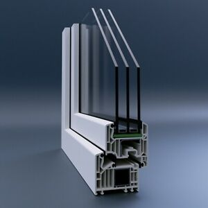 Veka Kunststofffenster Pvc Fenster Fenster Kunststoff Fenster 3 Fach Verglast Ebay