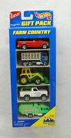 Hot Wheels 1996 Farm Country 5 Truck Gift Pack Die Cast Collectibles 1:64
