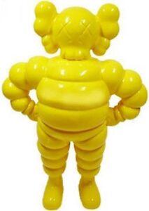e9b340c0 Image is loading KAWS-CHUM-figure-Yellow-Michelin-US-SELLER