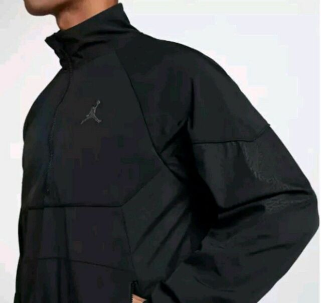 171c034e774776 SZ XL 🆕 Jordan Air Men s Nylon AJ Retro 3 Track Jacket Black AQ0942-010