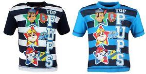 PAW-Patrol-T-Shirt-86-92-98-104-110-116-kurzarm-Junge-Kinder-Shirt-Ryder-Chase