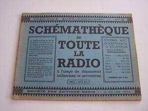 Schematheque De Toute La Radio , Schemas Recepteurs Pour Depanneurs .eo N°9 Eec8za5w-08004222-422168969