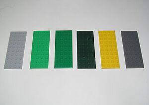 Lego ® Construction Plaque 4x10 Plate Platten Choose Color ref 3030