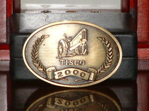 Pre-Owned-Tisco-Series-XII-1937-2000-Limited-Edition-No-3034-Belt-Buckle