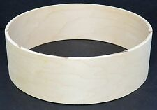 "Keller 10-Ply Maple 13"" x 4"" Snare/Piccolo Drum Shell, New & Unfinished"