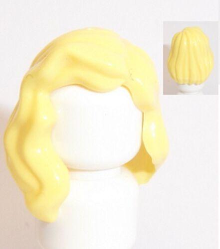 Lego sur l/'épaule femme cheveux x 1 jaune pour figurine
