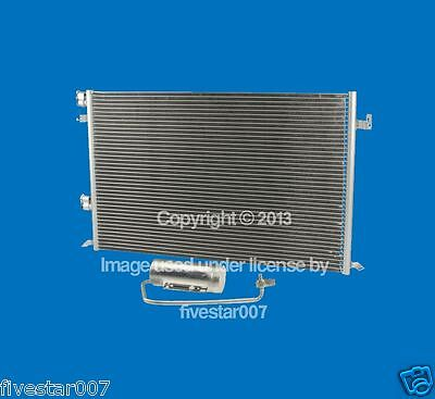 For Saab 9-3 NISSENS A//C Condenser w// Automatic Transmission 12 793 296