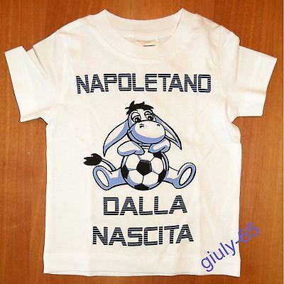 "MAGLIA JUVENTUS bambino neonato  0//2 anni /""JUVENTINO DALLA NASCITA/"" t-shirt Juve"