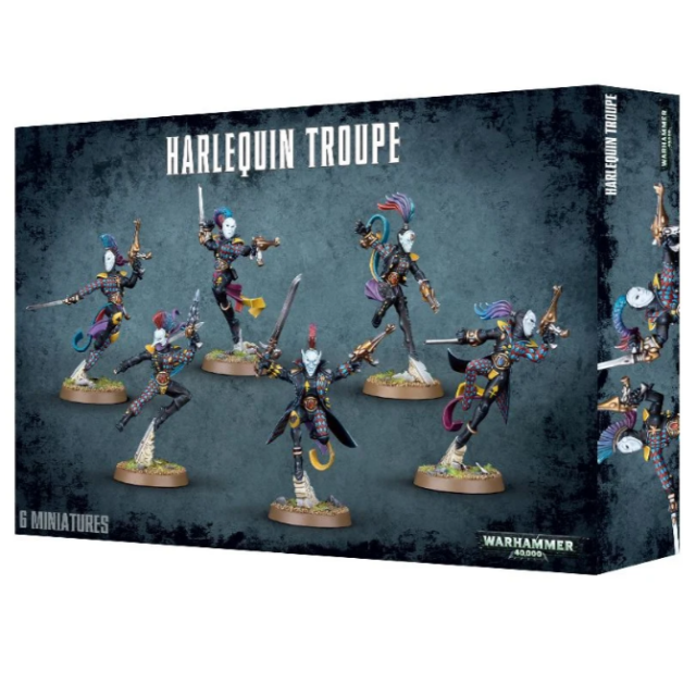 WH40K - Harlequin Troupe - Free Shipping