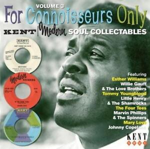 FOR-CONNOISSEURS-ONLY-VOLUME-3-Various-NEW-amp-SEALED-NORTHERN-SOUL-CD-KENT-R-amp-B