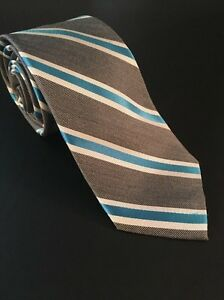 Mens Express Neck Tie Slim Skinny Silk Narrow Gray Blue Aqua 2.75""
