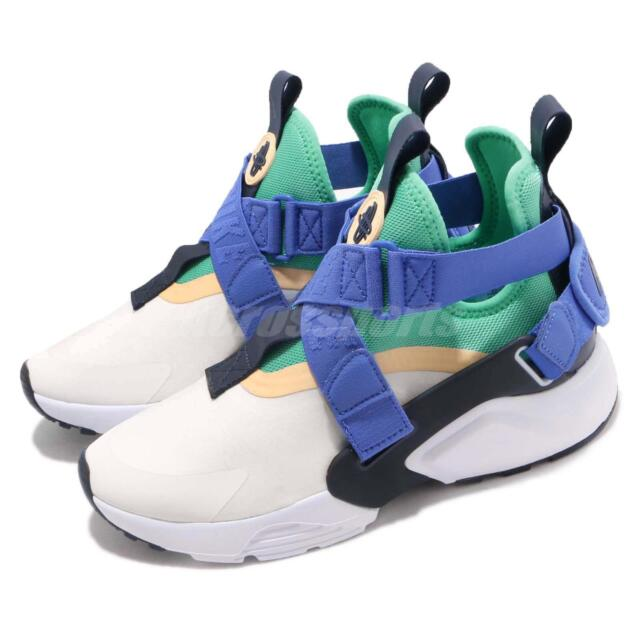 factory authentic 44f4d 8e930 Nike Air Huarache City Womens Ah6787-103 Sail Menta Blue Athletic ...