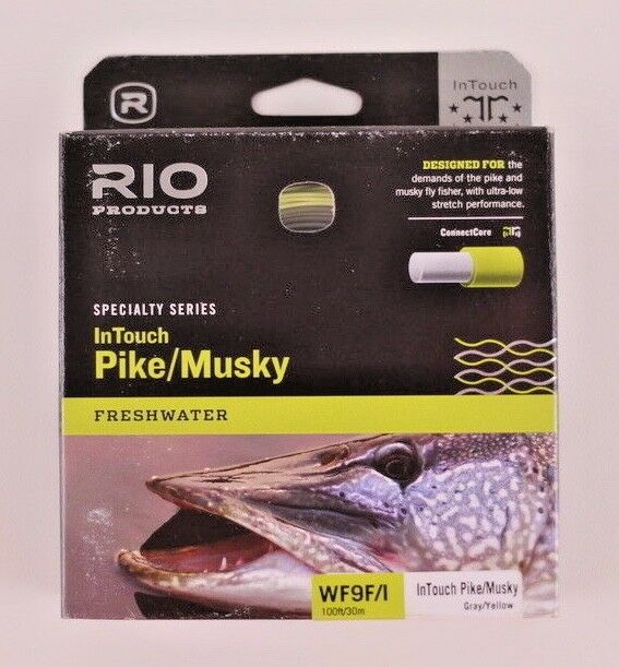 Rio InTouch Pike Mucielo Fly Line WF9I gratuito Fast Shipping 621037