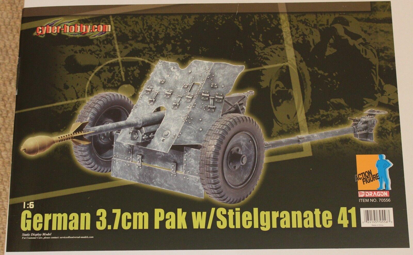 Cyber hobby dragon  german brandt 73.7 cm pak 1 6 12'' boxed  did hot toy ww11
