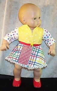 "Doll Clothes Baby Made 2 Fit American Girl 15/"" inch Bitty Pajamas Dots"