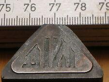 DIXI   LOGO schöner Oldtimer Stempel / Siegel aus Metall