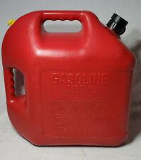 Clean Pre Ban Blitz 5 Gallon 50833 Red Plastic Gas Can With Flex Spout Amp Vent