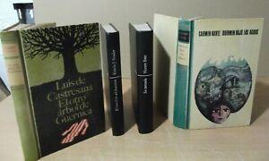 Lote-de-4-Libros-usados-Novela-Vicente-Soto-Ramon-J-Sender-Carmen-Kurtz