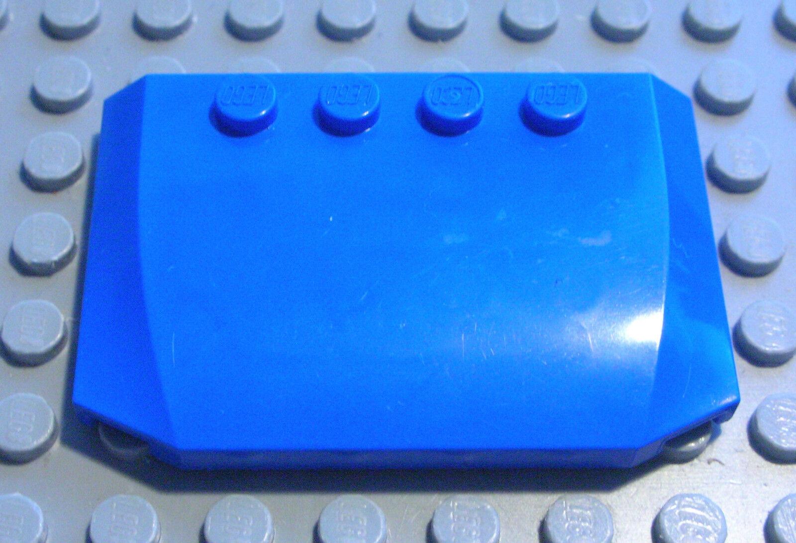 LEGO 10 x Fenster Scheibe Auto 3x4x1 transparent hell blau LKW PKW 2437