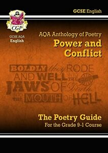 CGP-Books-New-GCSE-English-Literature-AQA-Poetry-Guide-Power