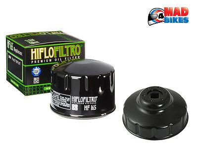 HIFLO Moto Filtro de Aceite de Rendimiento para BMW F800 S 06-10 F800 st 06-13 F800 st Touring 12 Calidad OE HF165