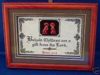 children Are A Gift From The Lord.bible,verse,scripture,plaque,christian Gifts