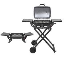 GrillTech Deluxe Portable Gas BBQ Barbecue Garden Camping Home Motorhome