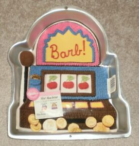 Slot Machine Cake Pan from Wilton 2033
