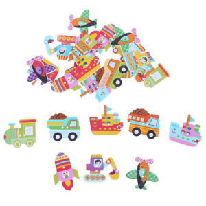 25pcs-Mixed-Wooden-Painted-Cartoon-Car-Decorative-Buttons-For-Crafts-DIY-Sewi-zi